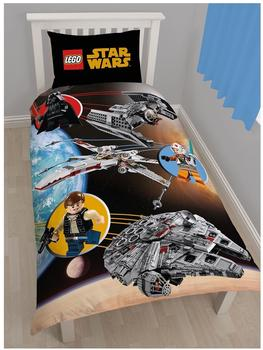 Character World Lego Star Wars Bettwäsche Space (135x200+80x80)