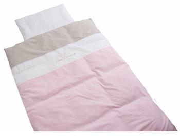 Be Be's Collection Bettwäsche 100x135cm - Kleine Prinzessin rosa