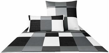 Joop! Plaza Squares 80x80+155x220cm black