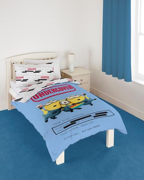 --- Despicable Me Minion Einzelner Bettbezug