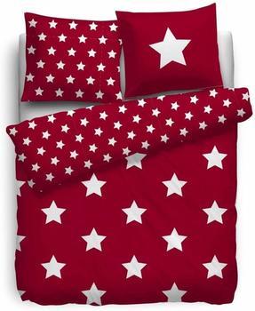 hnl-bettwaesche-stars-red-bl-135x200-cm