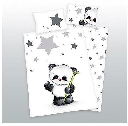 Herding Bettwäsche 100x135cm Renforcé - Jana kleiner Panda