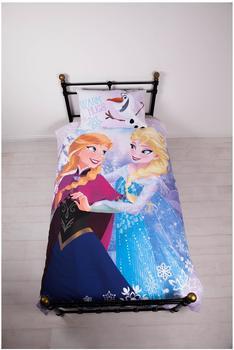 Disney Die Eiskönigin Bettwäsche Crystal (135x200+80x80cm)