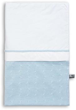 baby's only Bettbezug (100 x 135 cm) Zopf uni Baby blau