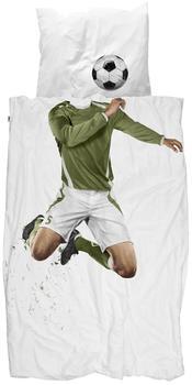 Snurk Bettwäsche Soccer Champ Fussballer 135 x 200 cm 100% Baumwolle