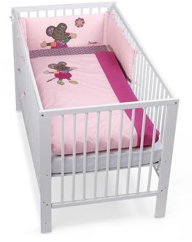 BabyPower24.com Oskar rosa 16.5 Be Be´s Collection Bett-Set 3tlg