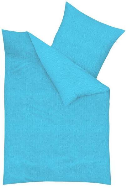 KAEPPEL Uni türkis blau (135x200+80x80cm)