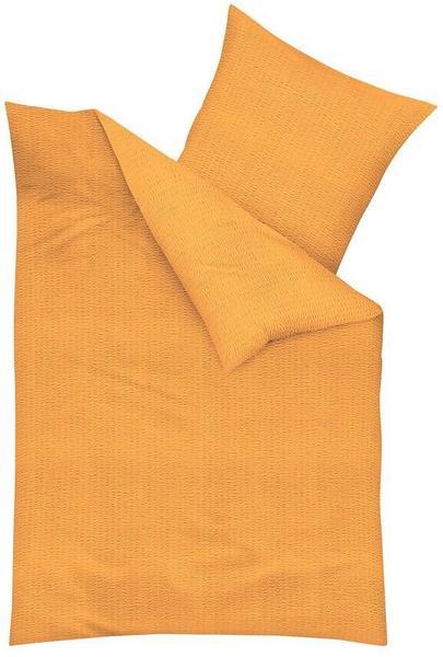 KAEPPEL Bettwäsche Uni orange (135x200+80x80cm)