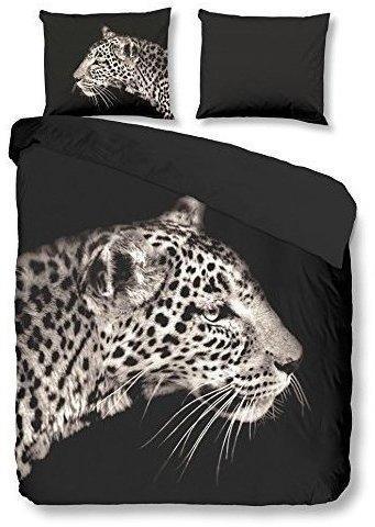 Pure Leopard anthracite (135x200+80x80cm)