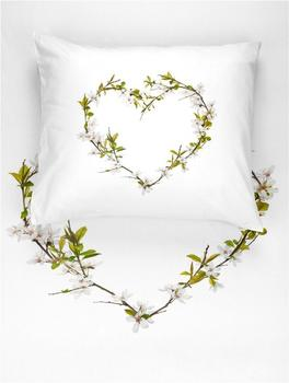 Walra Blossom weiß (135x200+80x80cm)