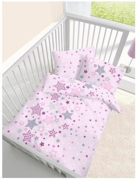 Ido Biber Baby Bettwäsche 2 teilig Bettbezug 100 x 135 cm Kopfkissenbezug 40 x 60 cm