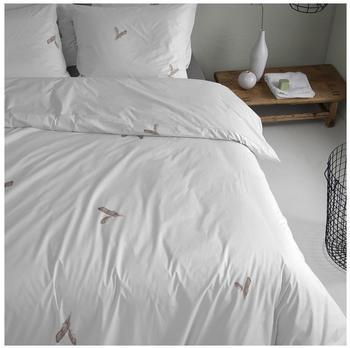 DAMAI Bettwäsche »Fjer«, weiß, 1x 135x200 cm