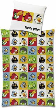 Global Labels Angry birds Renforcé multi (135x200+80x80cm)