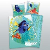 Disney Nemo Wende Bettwäsche Finding Dory 80 x 80 cm +135 x 200 cm