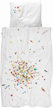 Snurk Candy 80x80+135x200cm weiß