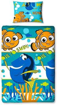 "Character World 1""Findet Nemo Dory Bettwäsche Bettbezug Set"