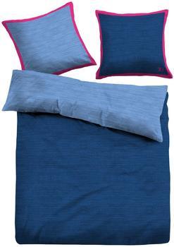 Tom Tailor Wendebettwäsche Tom Tailor, »Leni«, mit Farbakzent blau 1x 135x200 cm