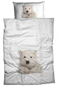 Casatex Kleiner Eisbär weiß (155x220+80x80cm)