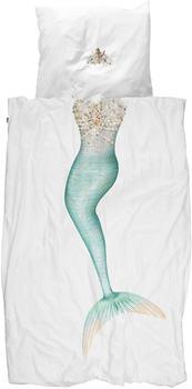 Snurk Bettwäsche Mermaid 135 x 200 cm 100% Baumwolle