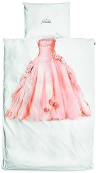Snurk Kinder Baumwolle Bettwäsche Prinzessin 155 x 220 + 80 x 80 cm