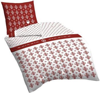 SUEÑOS Flourish Red 155x220 cm