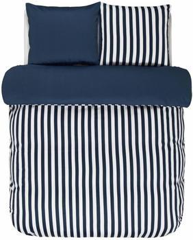 Marc OPolo Classic Stripe indigo blau (200x220+2x80x80cm)