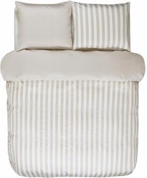 Marc OPolo Classic Stripe oatmeal (135x200+80x80cm)
