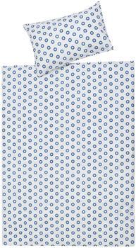 Schardt Bettwäsche 100x135 cm - Circle Star blau
