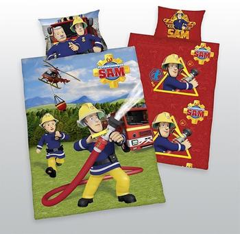 Herding Kinderbettwäsche Feuerwehrmann Sam (100x135)