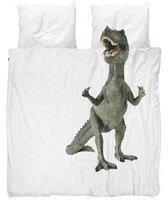 Snurk Bettwäsche Dinosaurus Rex 200 x 220 cm 100% Baumwolle