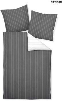 Janine »Wende«, mit feinen Streifen grau 1x 155x220cm, TANGO 20020 155x220 cm