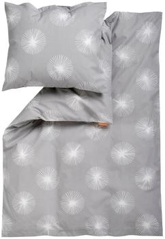 Leander Bettwäsche 70x100cm - Flora Light Grey