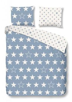 Good Morning! good morning Bettwäsche Stars 5263 blue Flanell,