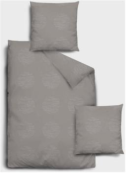 Dormisette Flanell Bettwäsche 2 teilig Bettbezug 135 x 200 cm Kopfkissenbezug 80 x 80 cm