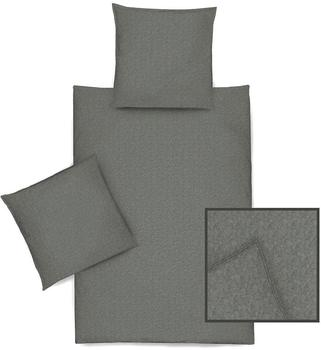 Dormisette Bettwäsche anthrazit 5088-090 135x200 cm + 80x80 cm,