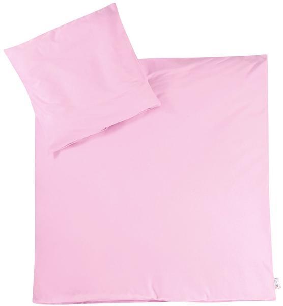 Julius Zöllner Bettwäsche Jersey 80x80cm - rosa