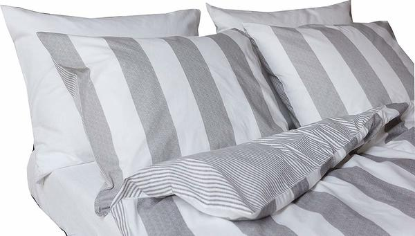 Walra Ferre weiß/grau (135x200+80x80cm)