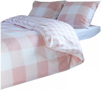Walra Bettwäsche Portland rosa, [GRÖßENAUSWAHL: 135x200 cm | 80x80 cm]