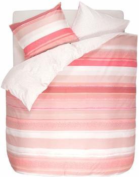 Esprit Dana mit breiten Streifen rosa, 1x 200x200 cm