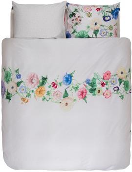 Essenza Essenza, Nore + mit bunten Blumen weiß, 1x 155x220 cm