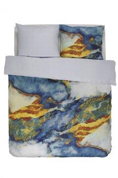 ESSENZA Banos «, mit Farbmuster blau, 1x 155x220 cm