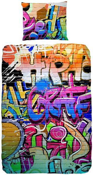 Good Morning Graffiti multi (135x200+80x80cm)