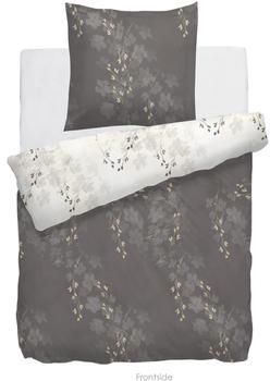 HNL Living HNL Velvet Touch-Bettwäsche Porana taupe (BL 135x200 cm)