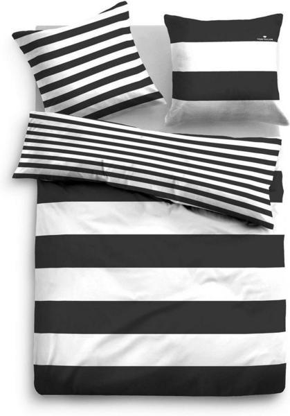 Tom Tailor Siena 80x80+155x220cm schwarz
