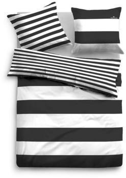 Tom Tailor Siena 2x80x80+200x200cm schwarz