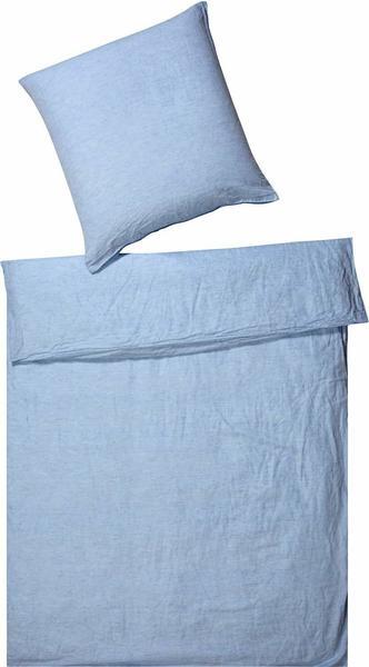 Elegante Breeze hellblau (135x200+80x80cm)