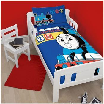 Character World Thomas und seine Freunde - Bettwäsche Kleinkind Classic 120x150 cm