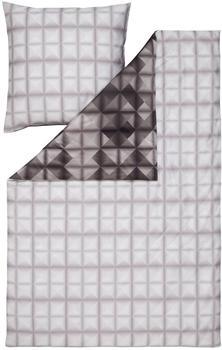 Estella Pattern anthrazit (155x220+80x80cm)