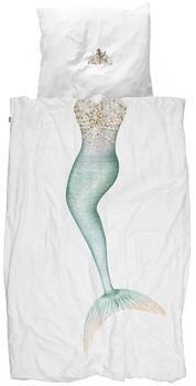 Snurk Bettwäsche Mermaid 155 x 220 cm 100% Baumwolle