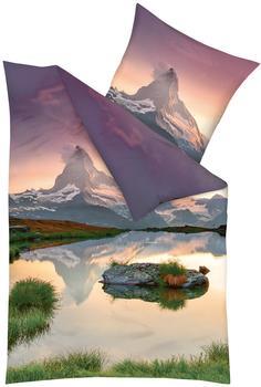 KAEPPEL Bettwäsche »Matterhorn«, bunt 1x 155x220 cm